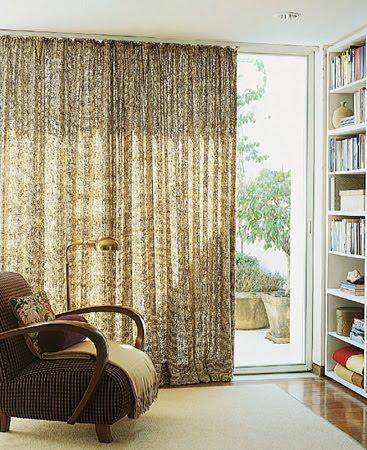Arquitetura interiores cortinas ou persianas - Cortinas para casa rustica ...