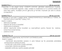 Subiecte titularizare - educatie muzicala p2