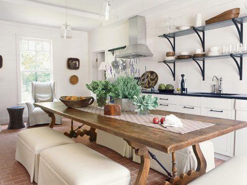 Virginia hortel cozinhas super charmosas for Open veranda design