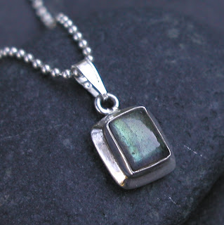 New Labradorite necklace