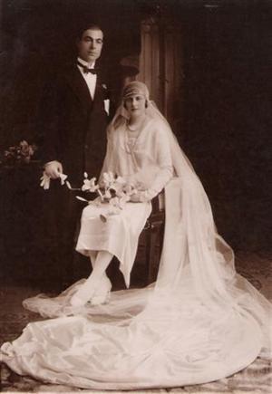 Casamiento de mis abuelos.