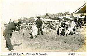 Playa de Mar del Plata.