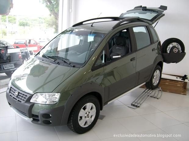 Fiat Idea Adventure Locker 2010 Exclusividade Automotiva