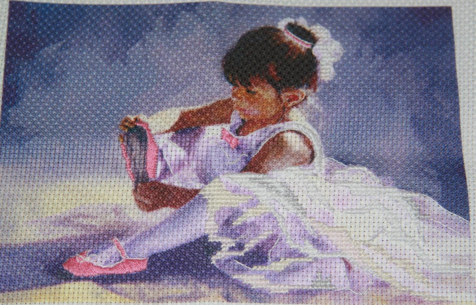 Балерина вышивка бисером фото 44