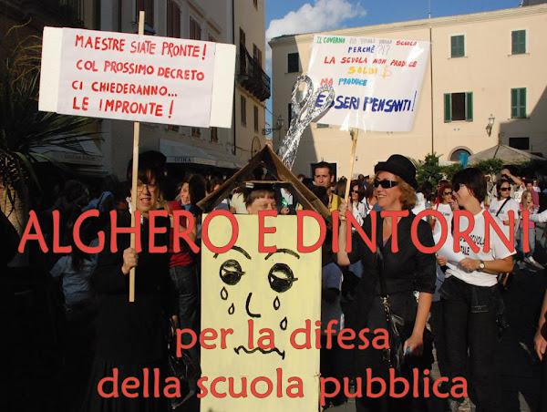 ALGHERO E DINTORNI ... per la difesa della scuola pubblica