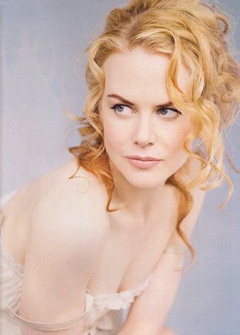 But, oh dear, what's happened to the makeup? Nicole Kidman