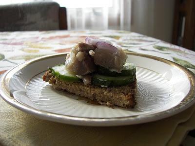 Yulinka cooks smoked mackerel canapes for Some canape picks