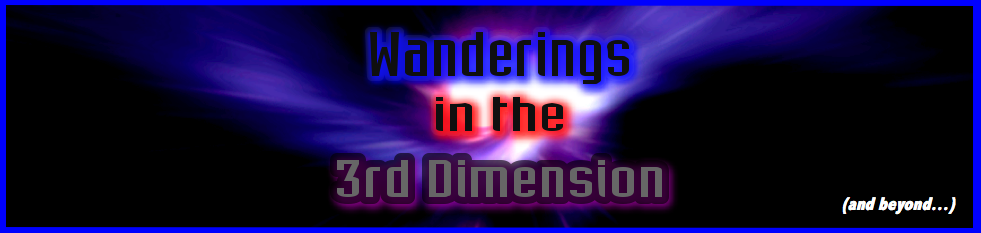 Wanderings In The 3rd Dimension