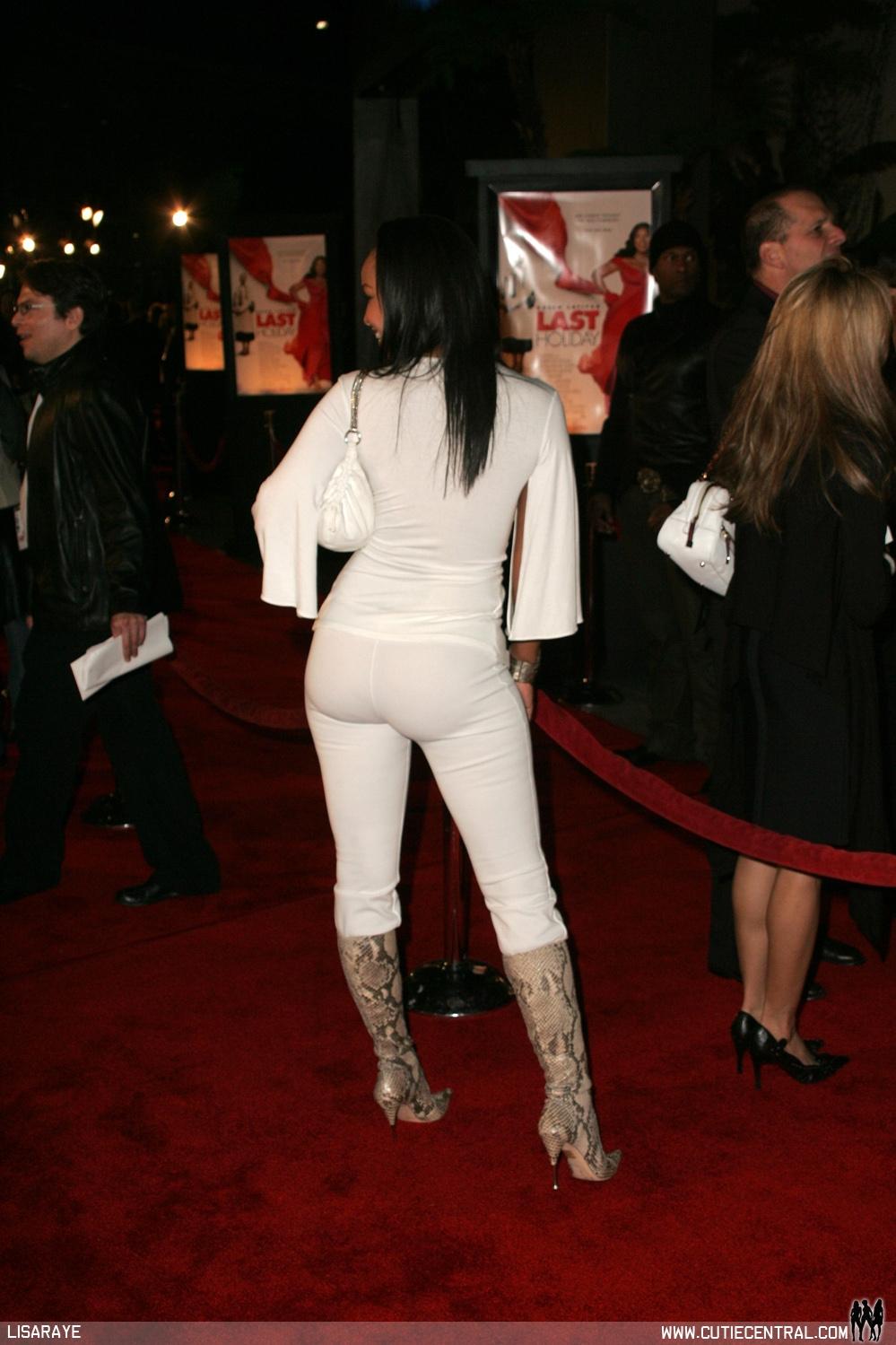 Ass lisa raye big