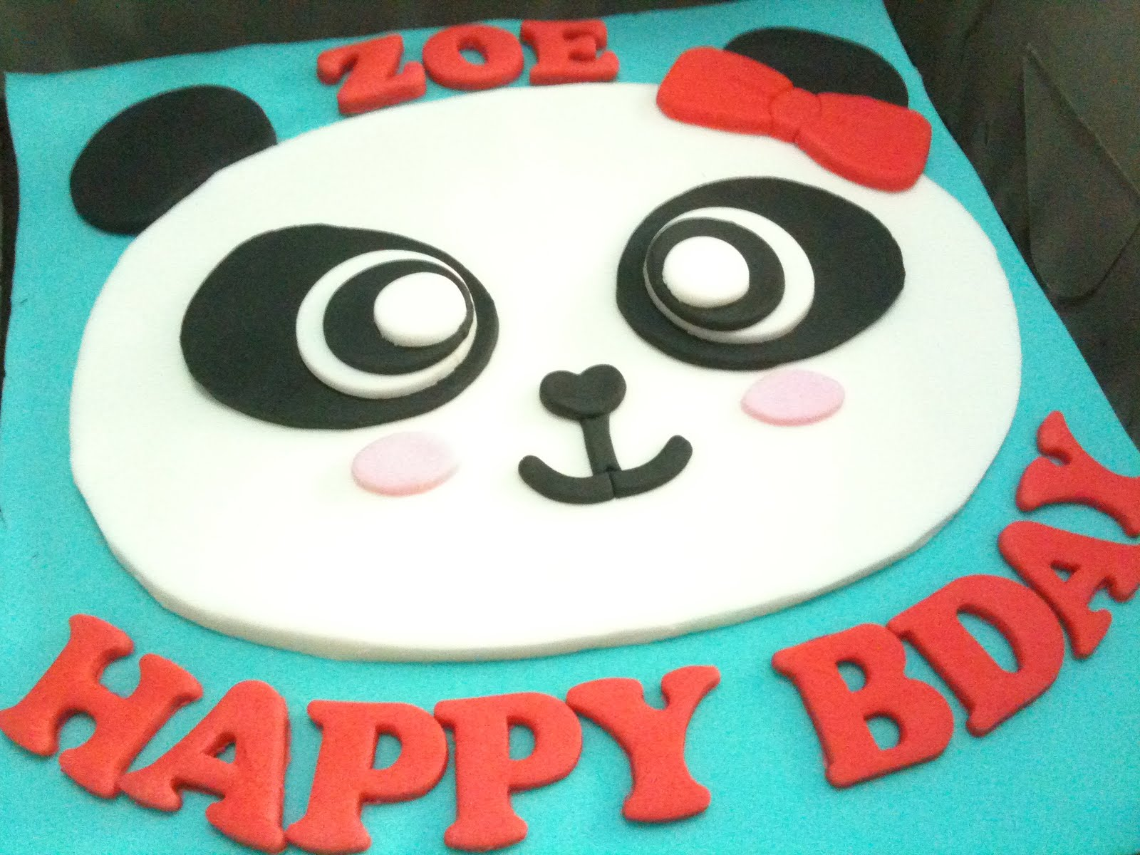 happy birthday panda cake. Black Bedroom Furniture Sets. Home Design Ideas