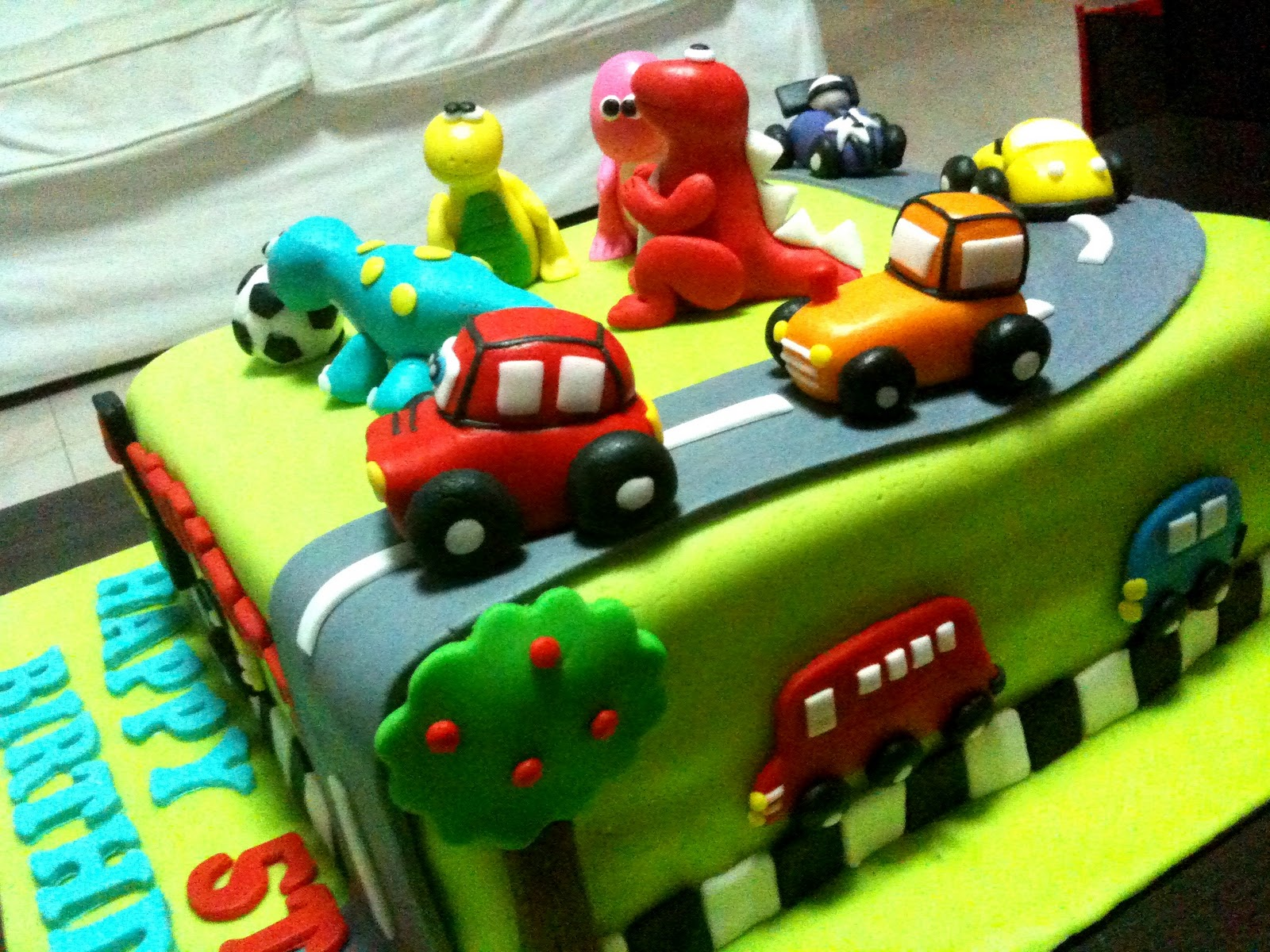 Oven Creations: Happy 5th Birthday Ayush