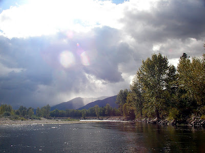 Clark Fork river in September - photo by Jack Mauer