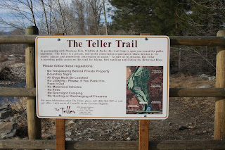 Teller Trailhead Sign