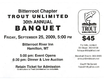 BRTU 2009 Banquet Ticket