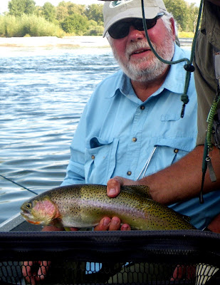 Bob with  a lower Bitterroot River trout