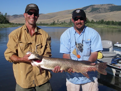 Casy and Aaron on the Flathead River
