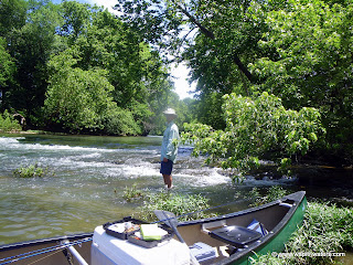 Fishing the James River in Missouri with Kyle Kosovich. A great day!