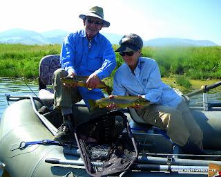 Montana Fly Fishing – Big Hole and Blackfoot Rivers with Naomi and Jim