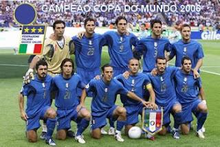 Jogadores da Italia para a copa do mundo