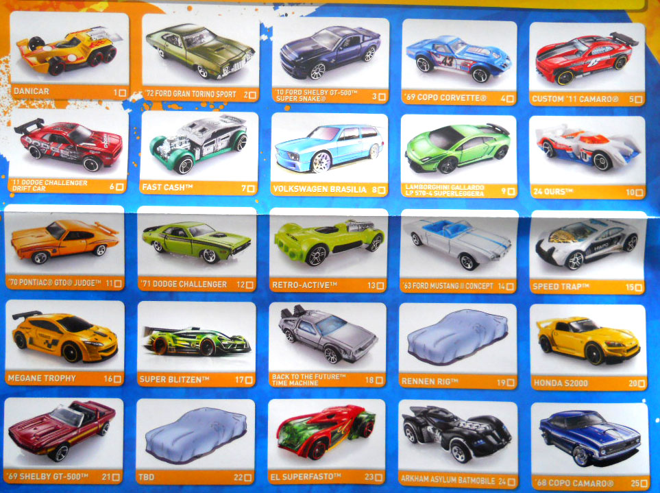 2014 Hot Wheels List Treasure Hunts | 2017 - 2018 Best Car ...