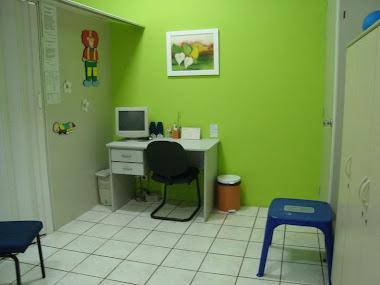 sala de fonoauidologia e terapia ocupacional