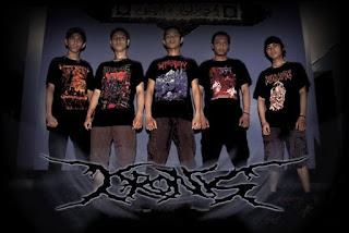 Kronis Band Brutal Death Metal Depok Jawa barat Indonesia Logo Wallpaper Cover Artwork