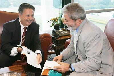 Eduardo Duhalde & Luiz Inácio Lula da Silva - Photo : Ricardo Stuckert / PR