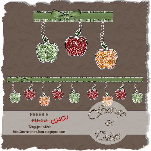 CU Beads, Crystals, Diamonds, Scatter, Magic Bag Trail+of+sparkling+apple_Preview_Scrap+and+Tubes