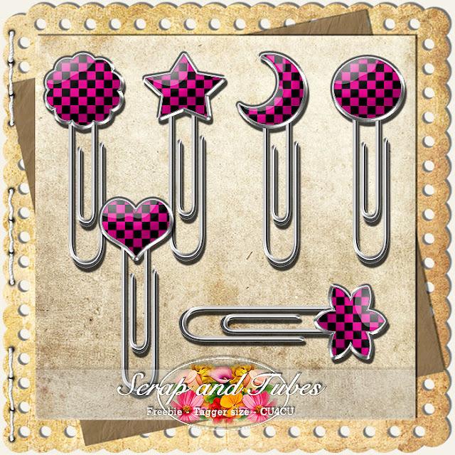 Fun Clips 2 (CU4CU) Fun+Clips+2_Preview_Scrap+and+Tubes