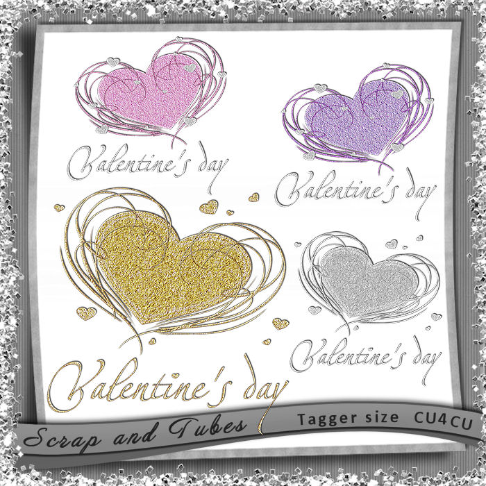 Valentine Heart Charms (CU4CU) .Valentine+Heart+Charms_Preview_Scrap+and+Tubes