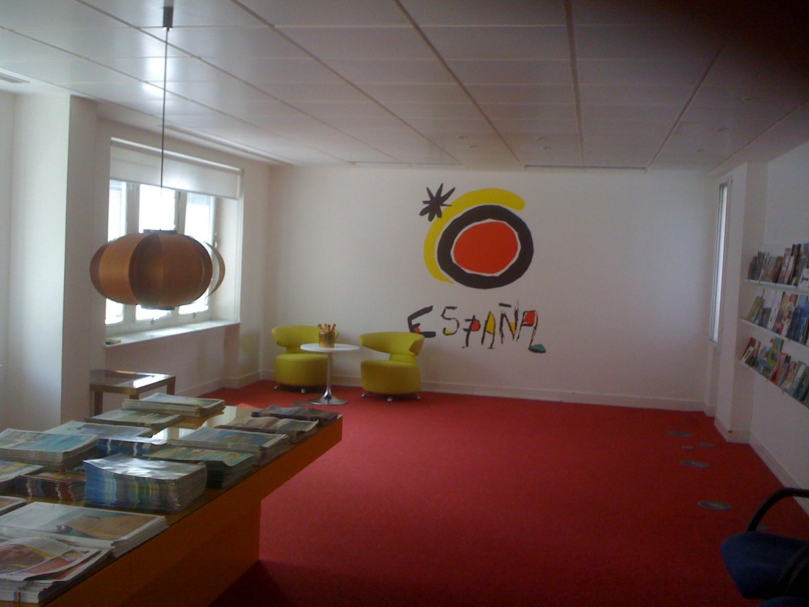 Blog de lingua globe visita de lingua globe a la oficina for Oficina turismo francia en madrid