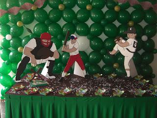 Decoracion Para Fiesta Beisbol - Recuerdos y Cotillones