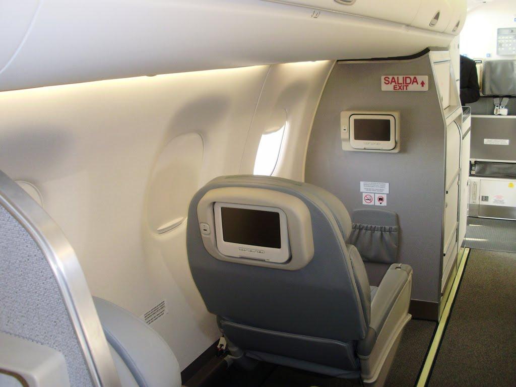 Interiores de los Embraer 190 - Austral Lineas Aéreas