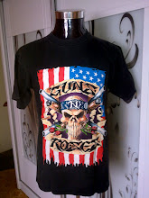 VINTAGE 1991 GUN N ROSES TOUR OLD 100% COTTAN SHIRT