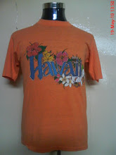VINTAGE HAWAII SUNSTROKE POLYTEES 50/50 SHIRT (SOLD)