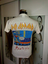 VINTAGE 1987/1988 DEF LEPPARD 50/50 T SHIRT very2 rare design (2) (SOLD!!!)