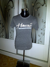 VINTAGE HAWAII 3BLEND T SHIRT (NOT FOR SALE)