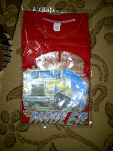 VINTAGE TRUCKERS 50/50 IRON ON KAIN SAMBUNG 1970S TAG T SHIRT (NOT FOR SALE)