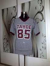 VINTAGE TAHOE 85 RINGER KAIN SAMBUNG 3 BLEND (15 RAYON) T SHIRT VERY RARE (NOT FOR SALE)