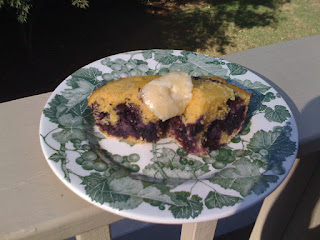 [Double] Blueberry Cornbread update