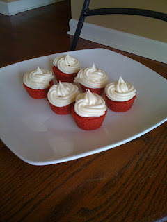 Red Velvet Cake and Cupcakes