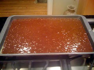 Texas Sheet Cake recipe by Grandma Gross