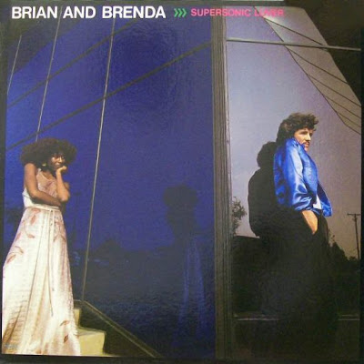 Brian and Brenda Russell - Supersonic Lover (Rocket 2291), 1977