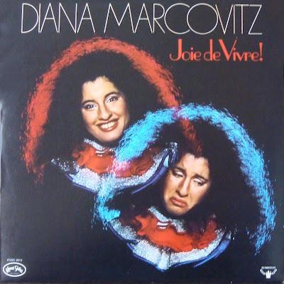 Diana Marcovitz - Joie de Vivre! (Kama Sutra, KSBS 2614), 1976