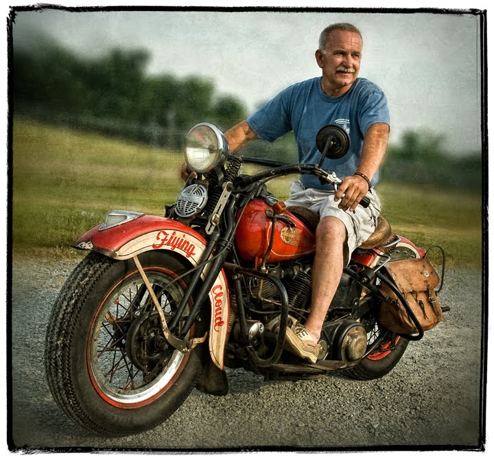 Dan Routh Photography 1936 Harley Davidson Knucklehead