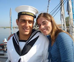 Two members of the Tagus Navy
