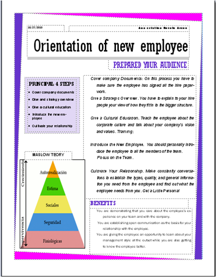 the orientation problem essay Theoretical orientation paper order description instructions part one this is a two part paper this part should be 11 pages the following is the instructions for part one.
