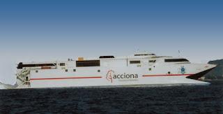 fast ferry Alborán