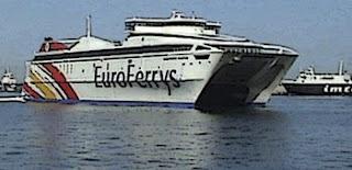 línea marítima Algeciras-Ceuta