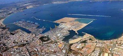 Aérea Puerto Algeciras octubre 08